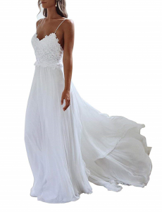 Designer Beach Wedding Dresses